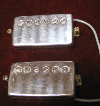 1980 Maxon Paf Humbucking set of 2 from 1980 Tokai LS120.. $355