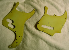 60s Fender Bass Green Guards Jazz or P Bass...$169.00