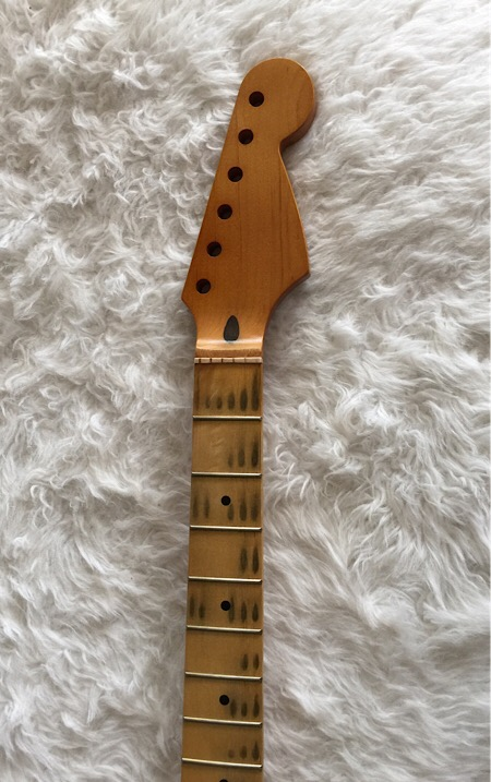 1950s Strat NECK Relic Old growth Maple old school JVG-Luthier Built