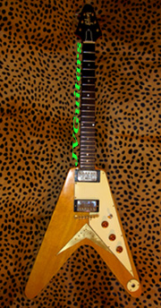 1958 Korina Flying V REPLICA Luthier Hand Built from 50 yr Old Stock wood!!!...SOLD sorry but Check out our Vintage Tokai 58 V WoW!!!   Another on the way! ask - order yours now!
