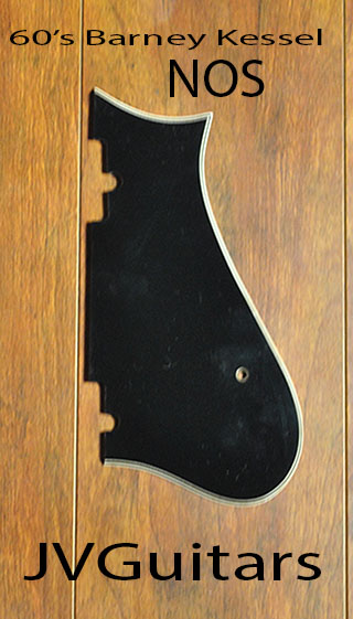 1960s Gibson Barney Kessel PICKGUARD nos slightly aged from time  handling ...$129.00