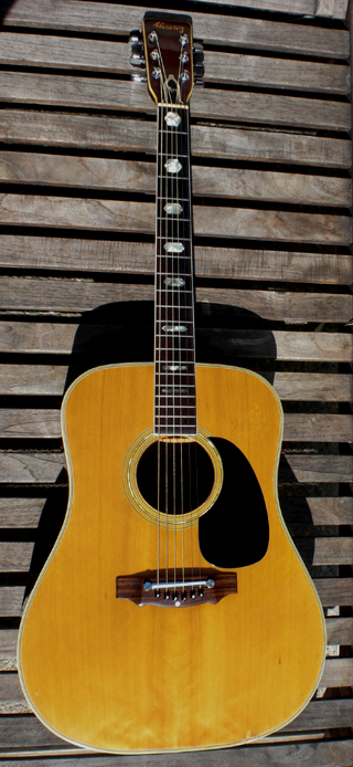 1969 Alvarez 5053 Exotic Wow she is 45 Years Old OLD Brazilian Rosewood Martin D-45 style