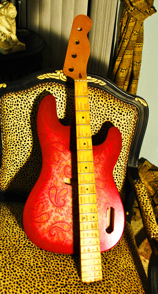 JVG Paisley Reborn Old 69 Paisley T BASS  build to suit...tell me what you want on it & we complete it for you....