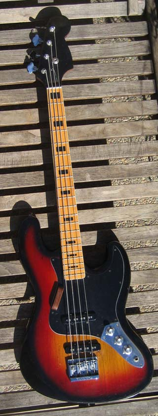 73 Jazz Bass Made in Japan Quality No Name SOLD OUT