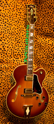 1974 Aria  L-1000c  Hand Crafted in Japan Gibson L 5 ces Style Replica Please inquire if interested