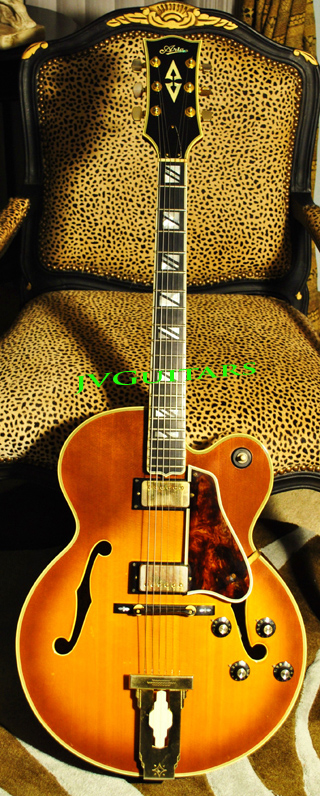 1975  Aria Pro II PE 180 L-5 SUPER 400 Replica High Quality Japanese Vintage Jazz Box Guitar WoW!!! ...YES this guitar is IN STOCK