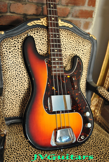 1975 DELTA Precision style Bass 3-tone sunburst Made in Japan quality in very good - excellent vintage condition $339,00
