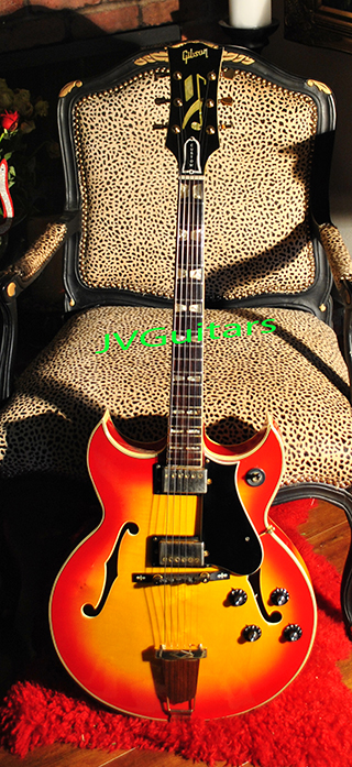 1977 GRECO Barney Kessel Jazz box Japanese High Quality FujigenGakki Replica WoW.... what a Beauty!  Just in ASK