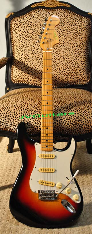 1972 Stratocaster Vintage Reissue Stratocaster This is a cool RARE made in Japan by FujiGen Gakki same as Ibanez - Greco Factory  Strat labled CIMAR WoW... not closet classic but warm Patina Real Vint
