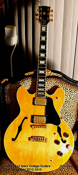 1979 Gibson es 347 td Figured Blond flamed Maple WoW!... Vintage Gibson w/OHSC.... SOLD