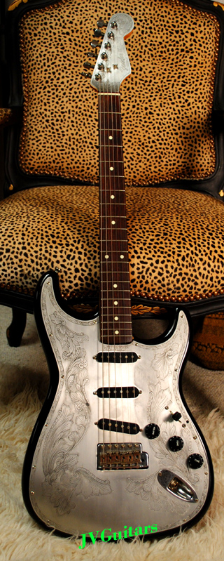 1980s Fender Stratocaster crafted in Japan Squier JV era VERY RARE  Aluminum top Zemaitis Style with Vintage Duncans WOW!.......SOLD OUT!