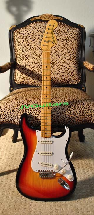 1969 Stratocaster Reissue RARE built  by Yamaha  Superivroller 400  High End Classic Sunburst  in near Mint Condition!.... $799.00