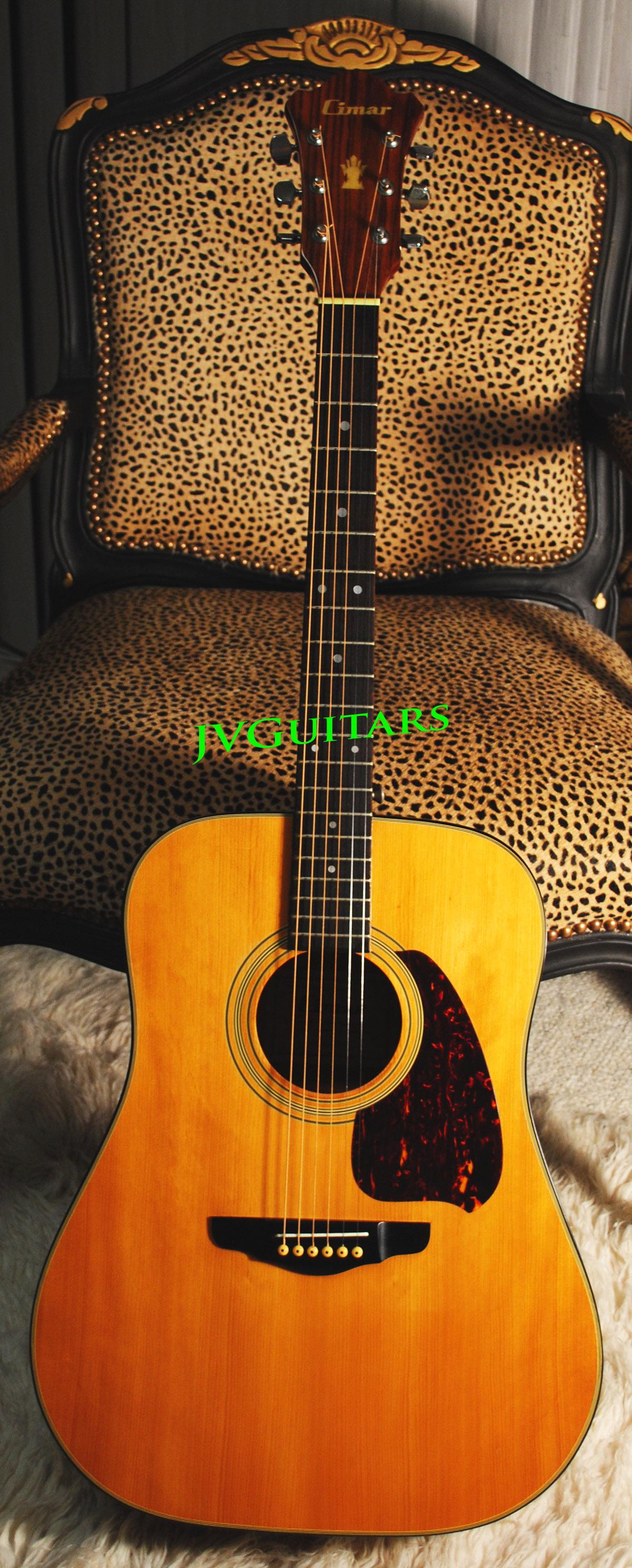 Cimar Guitar Serial Number