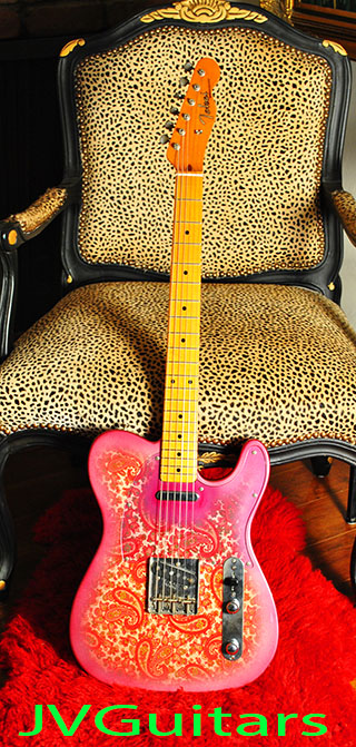 1985 TOKAI 1968 PAISLEY Telecaster the most accurate 1980�s re-production Paisley WoW!...SUPER Rare..& Clean!.. SOLD OUT!
