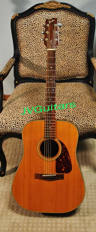 1987 Fender F-210  D-18-28 Martin style Acoustc made in Japan ..$ 329