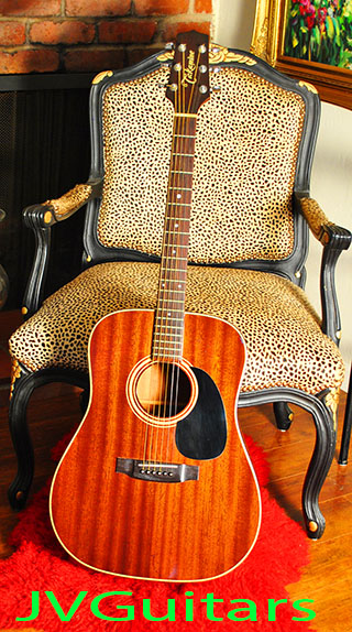 1991 TAKAMINE F349  ALL Mahogany based on  the Martin D-17 All Mahogany  copy crafted in Japan WoW! $ 559.00