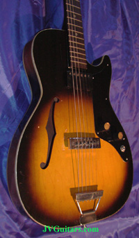 1958 Vintage Airline-Supro Les Paul HollowBody Style...$699.00