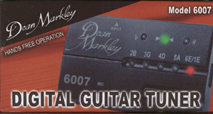 Dean Markley Digital Guitar Tuner Model 6007
