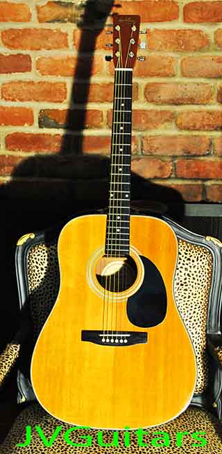 1983 HONDO D-18.  Law suit style copy of the Martin  D-18  great condition sounds great too! .... $  259.00