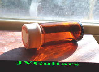 Bottle Neck Slide real  Glass Medicine bottle like Corriciadan ......