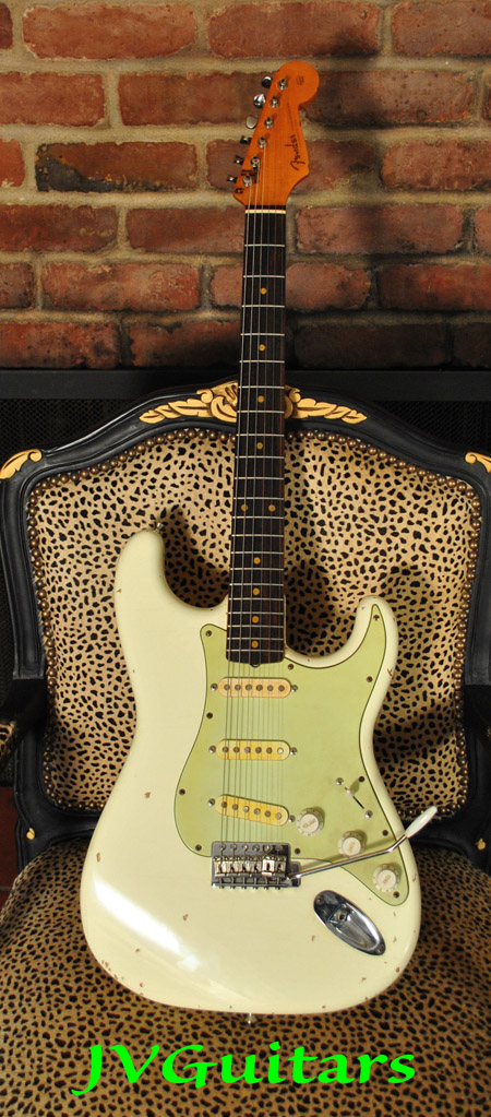 JVG Reborn Old 1963 Strat Recreation from High end Vintage 35 year old growth woods JVG Luthier Custom Shop SUPERB sounding & Playing WoW $1799 SOLD OUT!