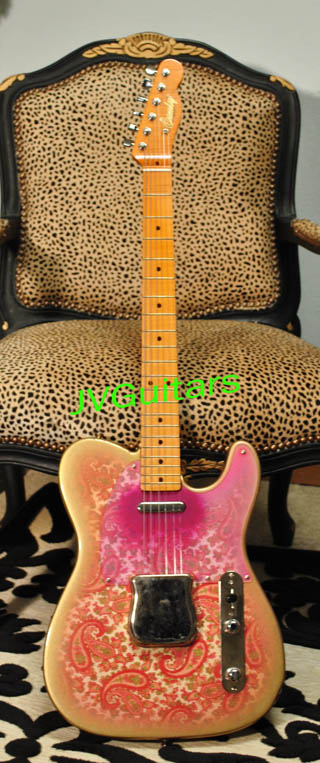 1969 JVG Paisley T aged Hand built guitar Hand Made in USA
