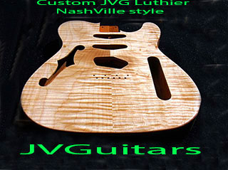 JVG-Luthier Custom shop Hand built in USA NashVille T WoW...this is the start of something very special One of a Kind We BUILD to suit...