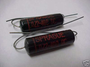 Sprague Black Beauty capacitors