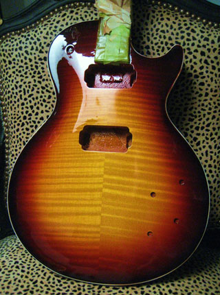 Project #10        59 Dark Burst  2014  - JVG-Luthier built  SOLD OUT! no worries we have others in stock and ready for finishing!