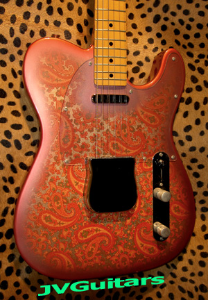 85 Tokai 1968 Paisley Telecaster the most accurate production Paisley WoW!...SUPER Rare..& Clean!.. = ASK!