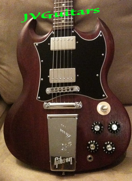 Gibson Derek Trucks Tailpiece faux Vibrola on an SG JVG website priced at just $235.99