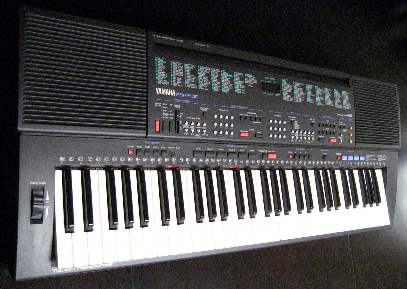Joe 39 s vintage guitars com for Yamaha synthesizer keyboard